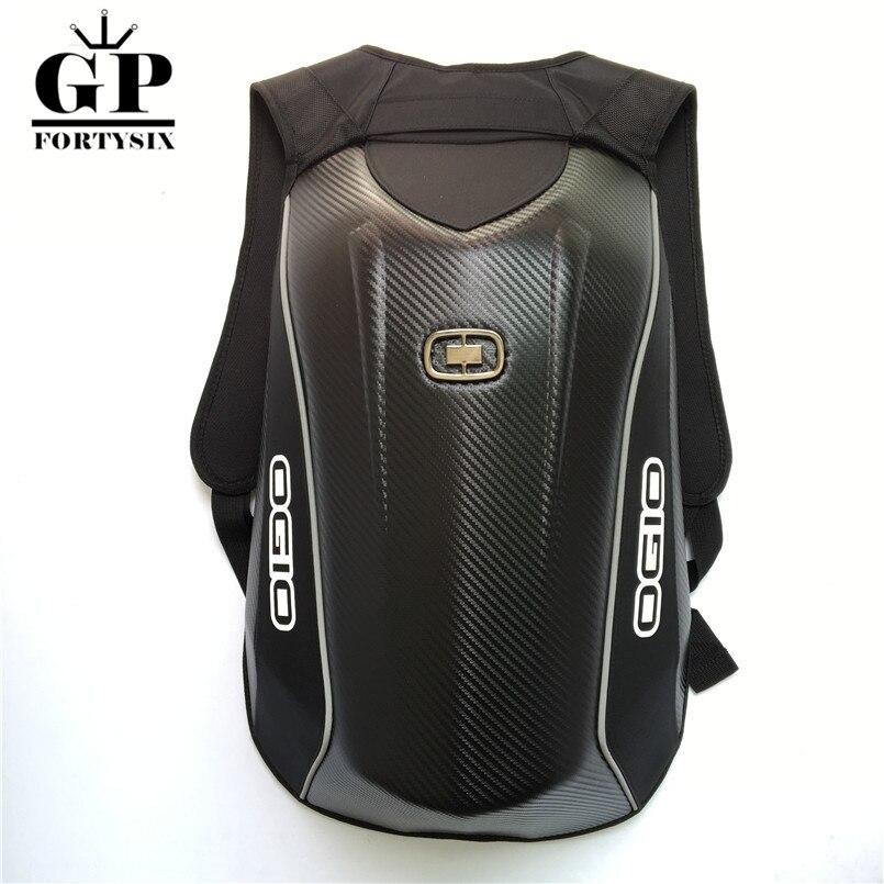 OGIO Маха мотоциклетные рюкзак Водонепроницаемый углеродного волокна жесткого корпуса мотоцикла мешок Мотокросс Чемодан рюкзак для Yamaha