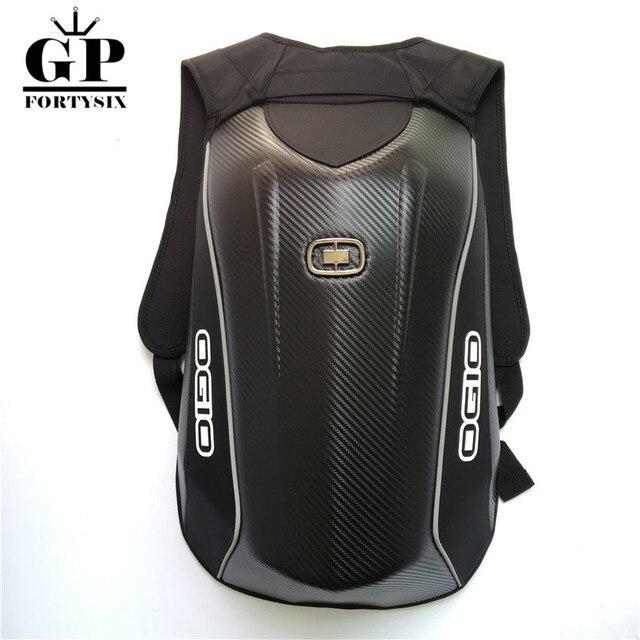 d248c9cffa OGIO Mach Moto sac à dos d'équitation Imperméable Carbone fibre Dur Shell  Moto Sac