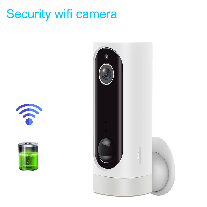WiFi Camera Rechargeable Battery Powered IP Camera 720P HD Indoor Security IR Night Version Support 128G SD Card  130 Wide AngleWiFi Camera Rechargeable Battery Powered IP Camera 720P HD Indoor Security IR Night Version Support 128G SD Card  130 Wide Angle