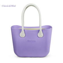 New Purple pink green candy colour  Classic Mini O Bag Style AMbag Women's Bags Obag  O AMbag  with  Canvas Inner  Handles