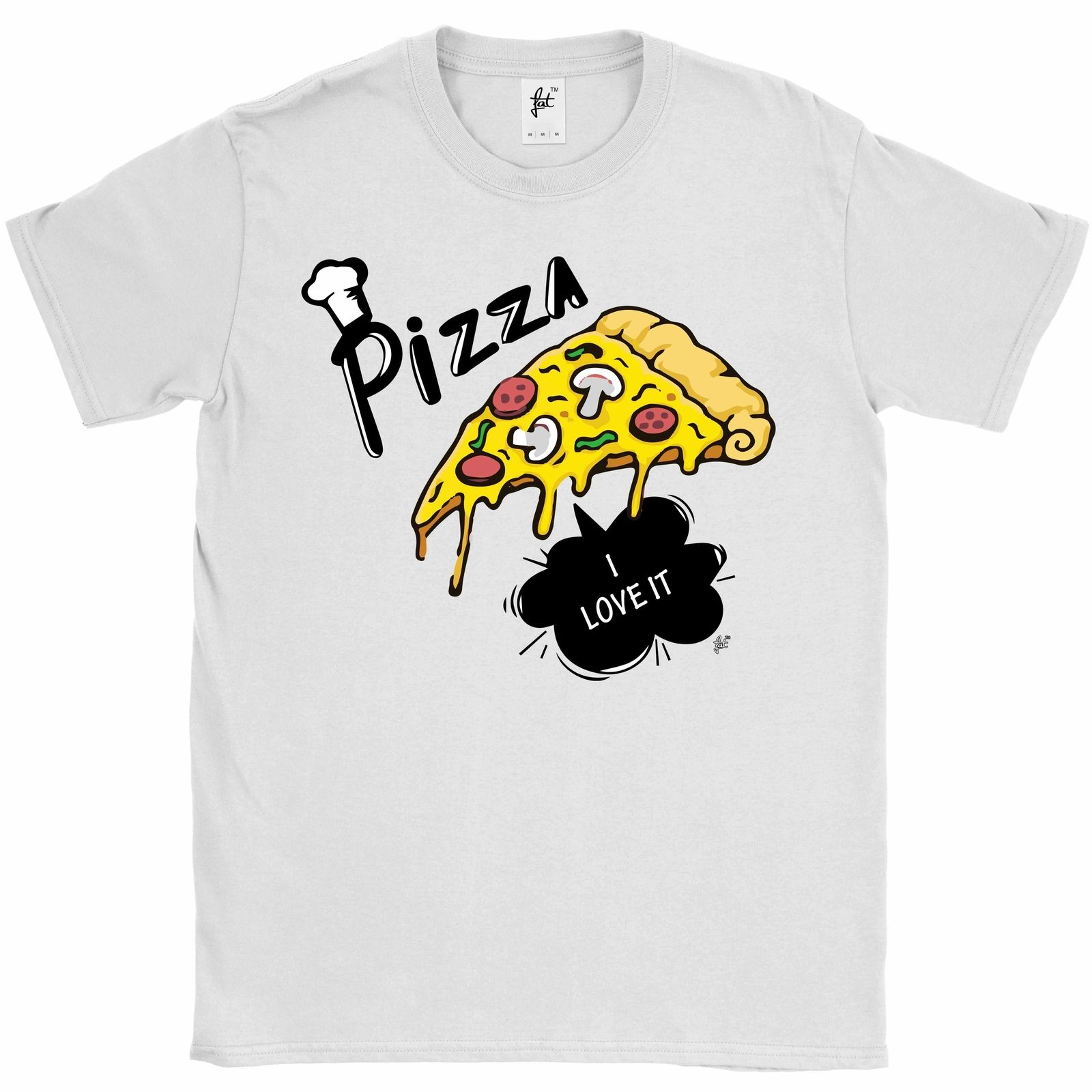 Pizza Believes in Me Delicious Pizza Slice Mens T-Shirt