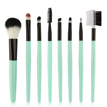 цена на 8pcs Makeup Brushes Set Professional Eyeshadow Brush Set Foundation Cosmetic Powder Brush Blending Beauty Tools H