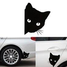 Наклейки на авто Украшение в виде кошки автомобиля Стикеры отличительные знаки животных кошка мотоцикл декоративные