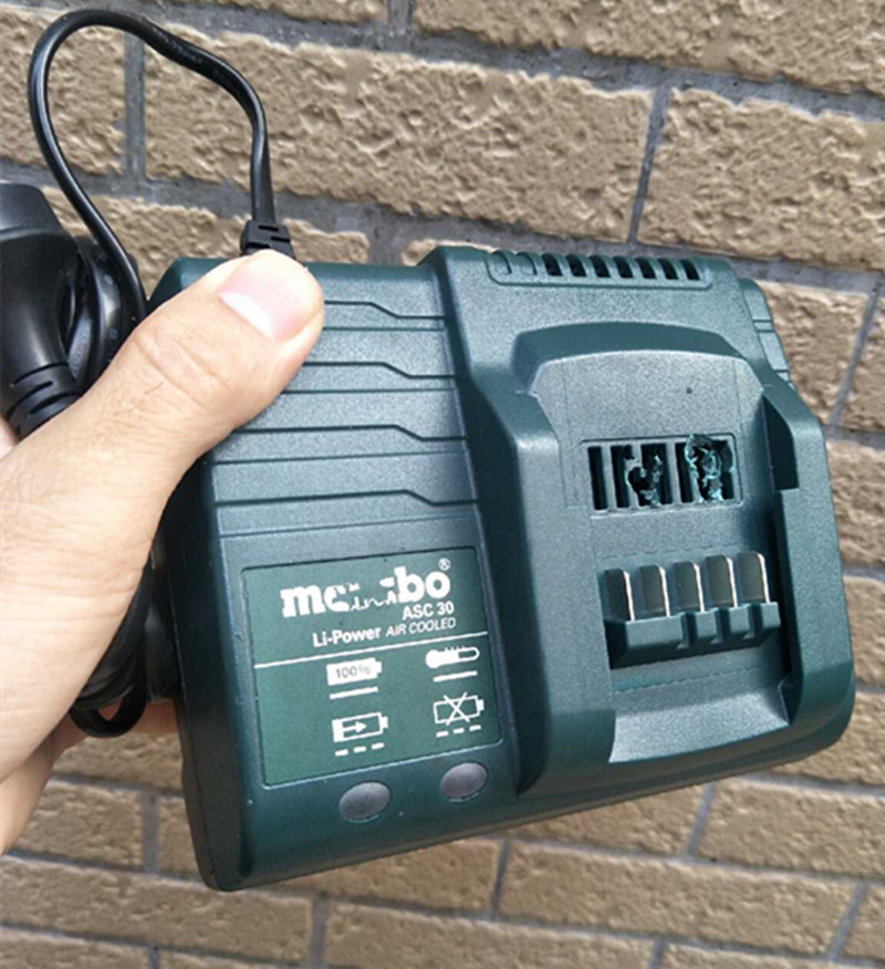 220-240V Charger For METABO 12V  14.4V  18V  ASC 30-36 ASC30  ( Surface Is Slightly Worn)good Quality 30 MINUTE