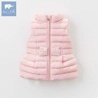 DB5930 dave bella autumn infant baby girls fashion vest kids toddler sleeveless coat