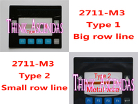 1 Piece New PanelView 300 2711 M3 2711 M3A18L1 2711 M3A19L1 Membrane Keypad Type 1