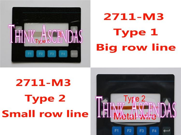 1pcs New PanelView 300 2711-M3 2711-M3A18L1 / 2711-M3A19L1 Membrane Keypad Type 1 / Type 1 1pcs new panelview 900 2711 k9 2711 k9a1 2711 k9a2 2711 k9a3 2711 k9a5 2711 k9a8 2711 k9a8x membrane keypad