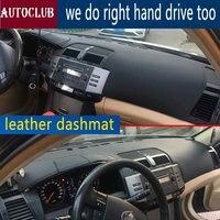 For Toyota mark x 2004 2009 Leather Dashmat Dashboard Cover Pad Dash Mat SunShade Carpet Cover 2005 2006 2007 2008