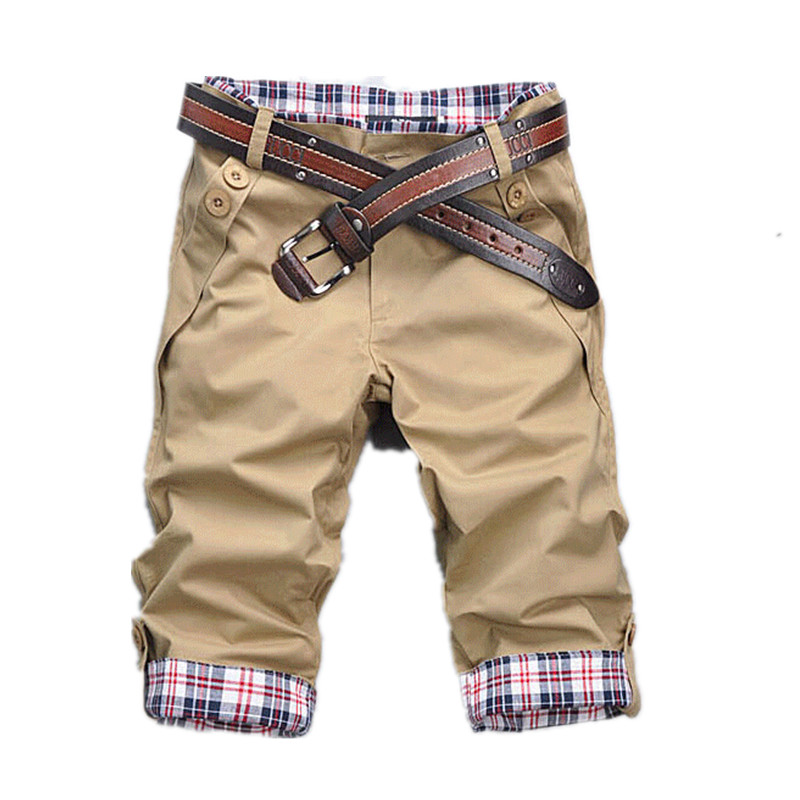 Summer Cotton Shorts Men Fashion Brand Breathable Male Casual Shorts Comfortable Plus Size Cool Short
