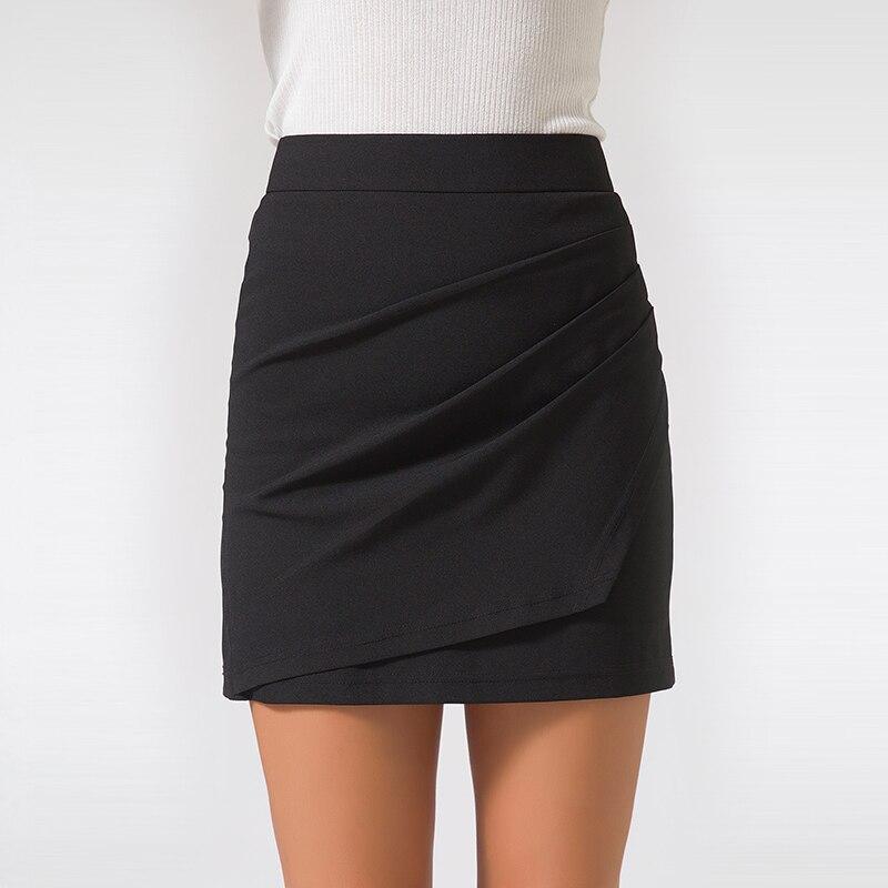 XS-5XL Plus Size Black Pencil Skirt Summer 2018 Bodycon High Waist Skirts Work Office Slim Women's Tight Sexy Mini Skirt Zevrez 3