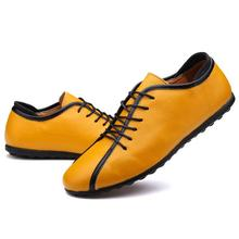 Male Shoes 2017 Newest  Casual Fashion Men's Genuine Leather Leather Moccasin Luxury Brand Designer Italian Men Shoes