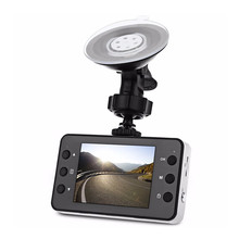 Discount! SLIVERYSEA 2.7 Inch K6000 Car DVR Camera Video Dash Cam Recorder Full HD 720P Dual LED Night Vision Video Registrator Car Camera