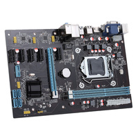 NB85 Stable 6 GPU Ext ATX Motherboard PCI E Extender Riser Card PCI E Riser For