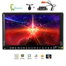 "Front&Rear Camera+7"" Video Player Android 6.0 Car DVD Player in dash car styling Automotive Audio GPS Head Unit support 3G 4G"