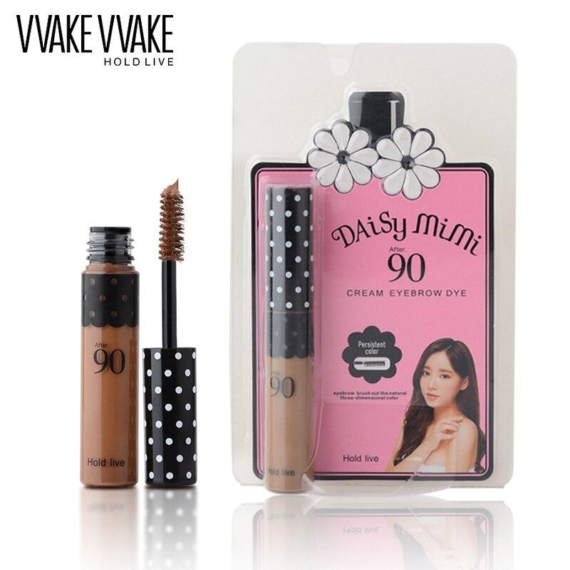 HOLD LIVE 4 Colors Eyebrow Gel Waterproof Cosmetics Makeup Set Brown Coffee Natural Color Eye Brow Mascara Cream Make Up Tool