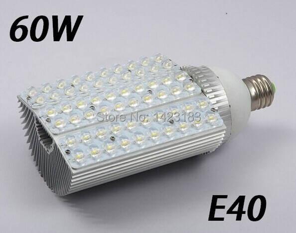 Free shipping sale AC85-265V E40 60W LED Streetlight 60*1w Taiwan Epistar Chip High quality new item 4 pcs per lot free shipping 50pcs lot b0505s b0505s 1w sip4 best quality