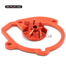 For KTM 400/450/530 EXC-R/EXC/XC-W/XCR-W  High Flow Billet Water Pump Impeller Wheel Motorcycle Accessories CNC Aluminum
