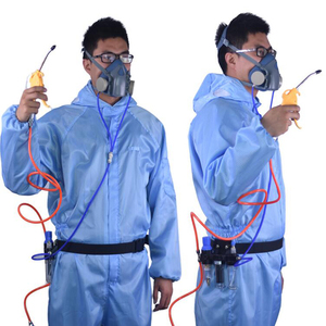 Image 5 - Function Supplied Air Fed Respirator System With 3M 7502 Half Face Paint Spraying Respirator Gas Mask