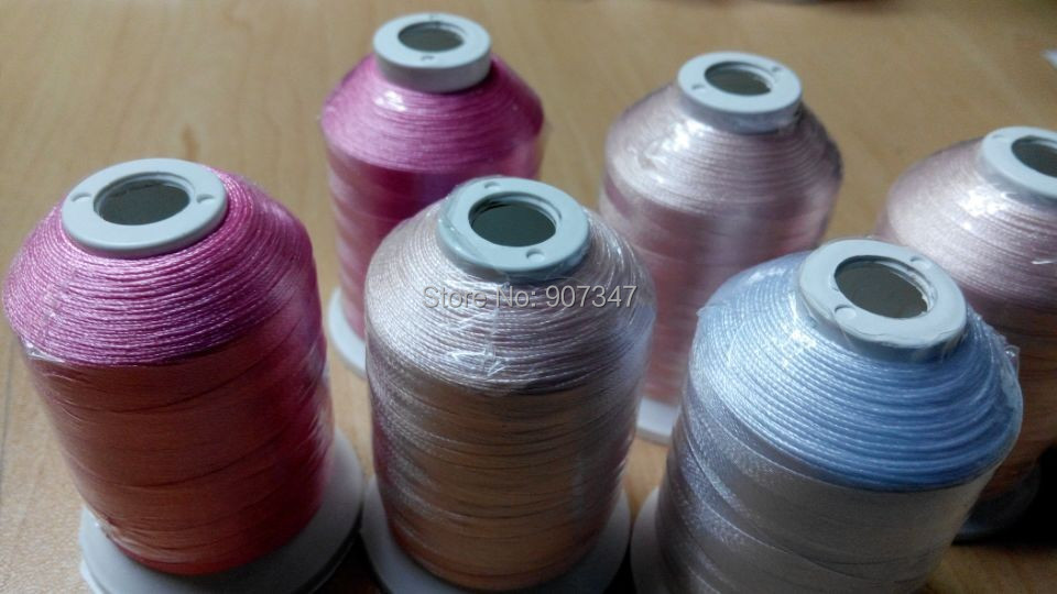 Baby Girl Colors Embroidery Thread 1000mcone 3 Brother Colors