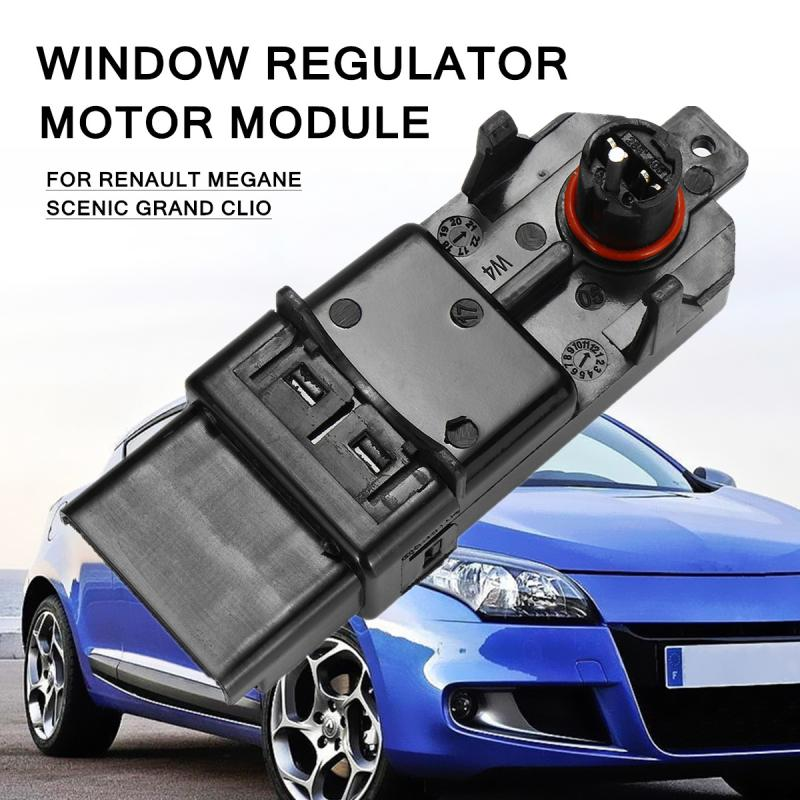 Window Regulator Motor Module For Renault Megane Scenic Grand Clio Include One Touchs Opening And Total Closure window regulator motor for toyota camry window lifter motor 85720 33120