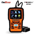 2017 OBD2 Auto Scanner Foxwell NT301 OBD Automotive Diagnostic Tool Engine Scanner Fault Code Reader with O2 sensor Same AL519