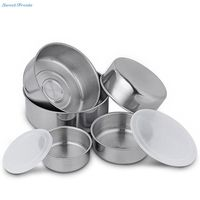 Sweettreats 5 Piece Stainless Steel Bowl Set With Lids