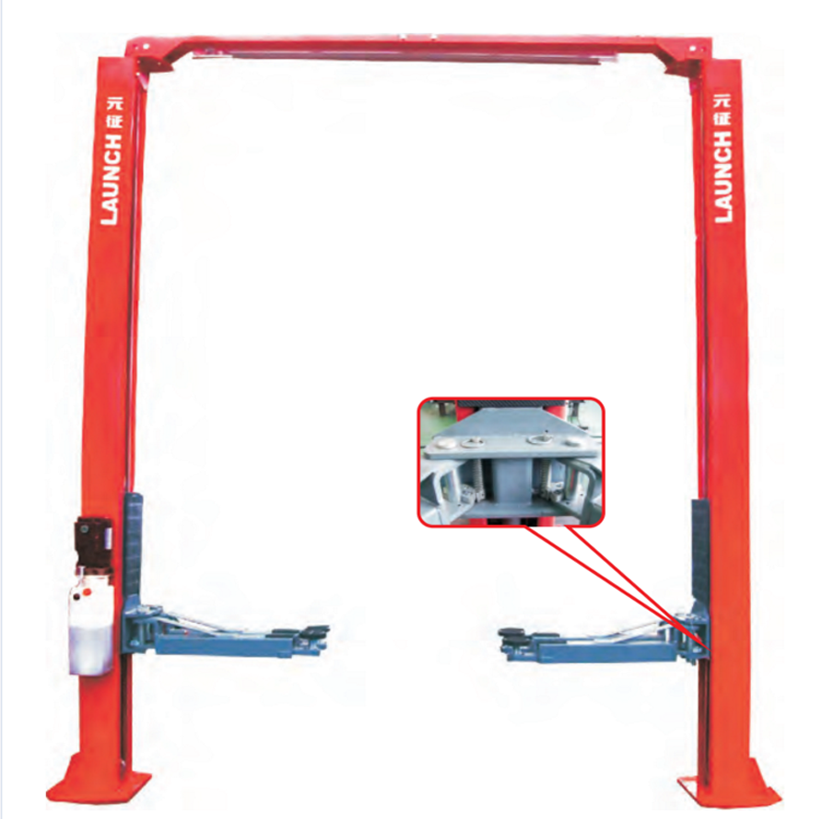 100% Launch Double Cylinder Hydraulic Car Hoist TLT240SC 4 Tons With CE Certificate Top One Quanity In China