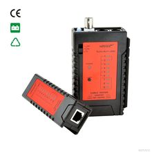 Top Quality NF-468BL RJ45 Cable continuity tester wire tracker BNC Ethernet Network Tester