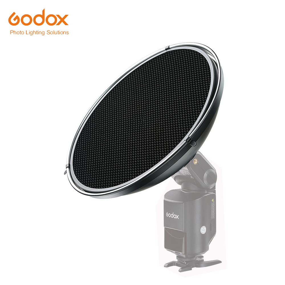 100% Original Godox Beauty Dish with Grid AD-S3 for WITSTRO Speedlite Flash AD-180 AD-360 new for 15k sas 450g 3 5 44v4432 44v4433 1 year warranty