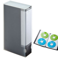 ymjywl CD Case 72 Large Capacity Folder Type CD Case Box High Quality CD Package For Home Bookcase Storage CD