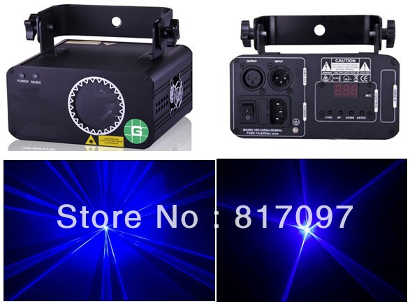 Wholesale 500mW Blue Stage Laser Light 450nm Power Laser Lighting DJ Disco Concert Theatres Party Union