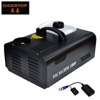 Низкая цена 1500 Вт DMX Туман машина вертикальной дымовой аппарат для сцен эффект тумана 110 V 240 V DMX Управление для диско ди джей вечерние прыснут