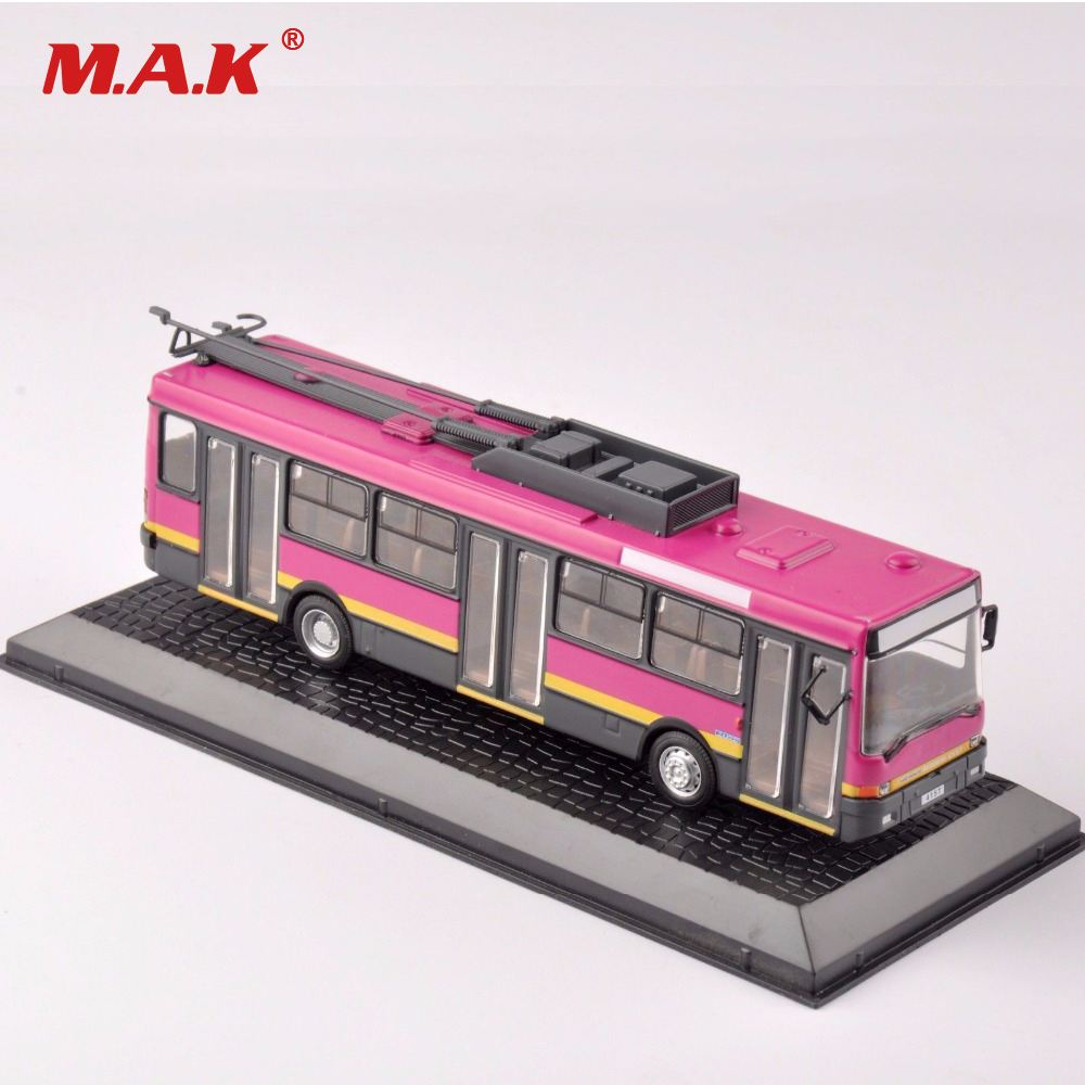 Atlas 1:72 Scale Diecast Ikarus 415T 1992 Bus Trams Car Vehicles Model Container Kids Toys Trolley Bus Collection Gift
