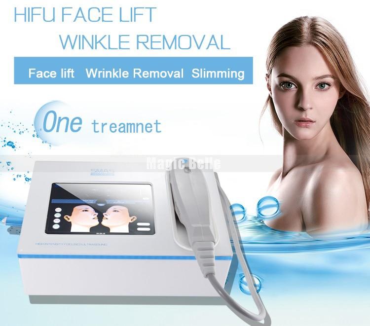 Disegno di Fashional portatile macchina ad ultrasuoni prezzo di seconda generazione hifu macchina con CE