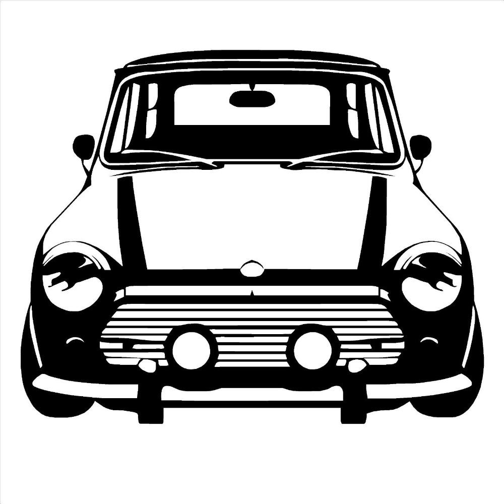 D183-CLASSIC-MINI-COOPER-Vinyl-Wall-Art-car-sticker-room-decal