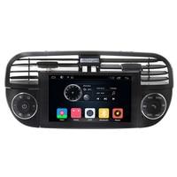 Free Shipping Car Multimedia Media DVD Player For Fiat Abarth 500 Cinquecento 2007 2014 Radio Steering