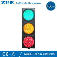 16 Inches 400mm LED Traffic Light Red Yellow Green LED Traffic Signal Light LED Vehicle Singal