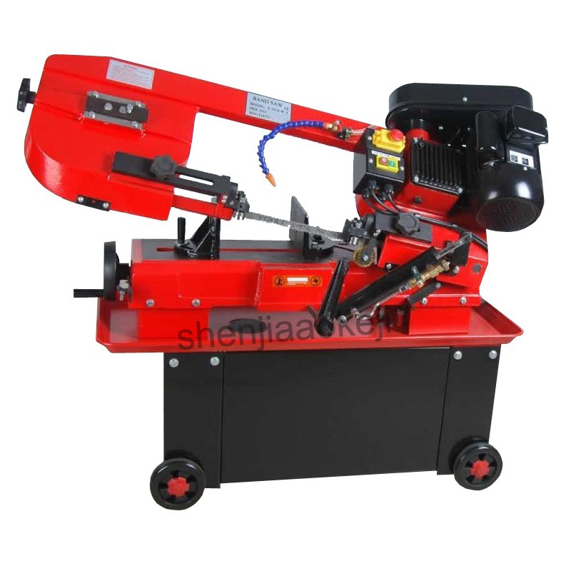 Multi-functional Small Sawing Machine Cast Iron Cut Saw Machine Band Saw Metal Woodworking Dual-use Band Saw Machine 380v 1pc
