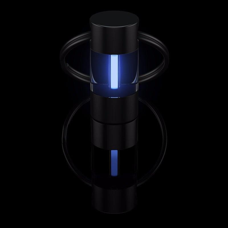 Tritium Lamp Keychain Key Ring Survival Tool Luminous Tritium Gas Lamp Lifesaving Emergency Lights Automatic Light title=