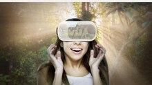 ใหม่สวมใส่อุปกรณ์VRกระดาษแข็งแว่นตา3D VRกล่องแว่นตาเสมือนจริงชุดหูฟังสำหรับ3.5-5.7นิ้วมาร์ทโฟน