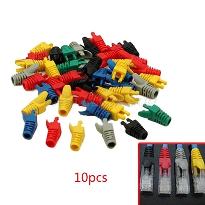 50 pçs ferramenta de rede rj45 cabo