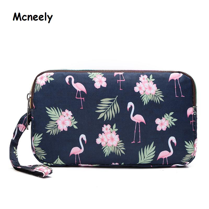 Mcneely Women Wallet Large Capacity Three Fold Lady Purses High Quality Female Wallets Carteira Feminina Money Bag Clutch Hot