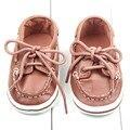 Мальчики Классический Красивый кожа Pu Дно Впервые Walkers Обувь Малыш Младенческая Малышей Мягкой Подошве Сапоги