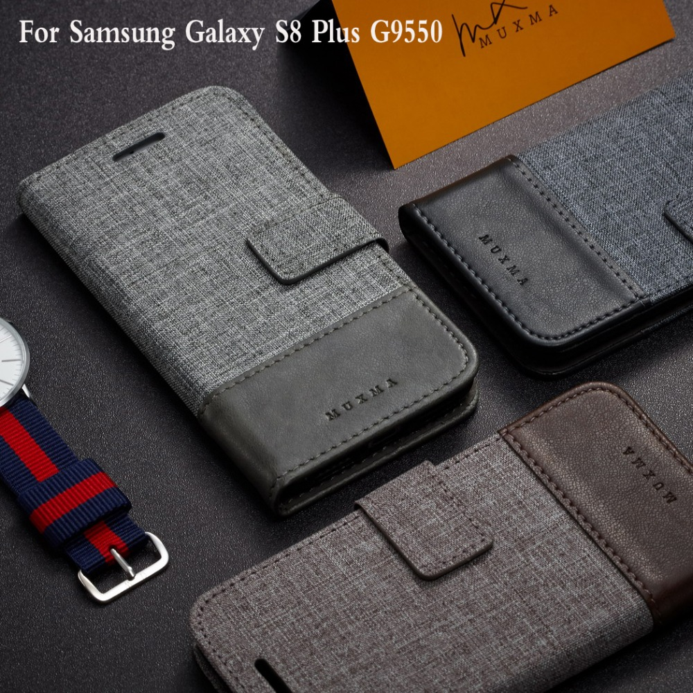 For Samsung GALAXY S8 Plus S8+ 6.2 Cases New Hit Color Leather Ultra Flip Case Card Holder Stand Cover Mobile Phone Bag