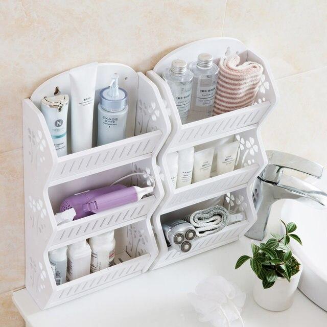 Online Shop Gratis geperforeerde muur opbergrek badkamer multi ...