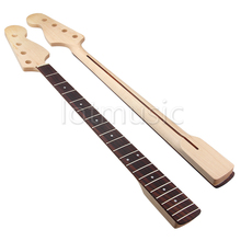 Maple 21 Fret Bass Neck for Bass JAZZ Guitar Rosewood Fingerboard Neck Replacement