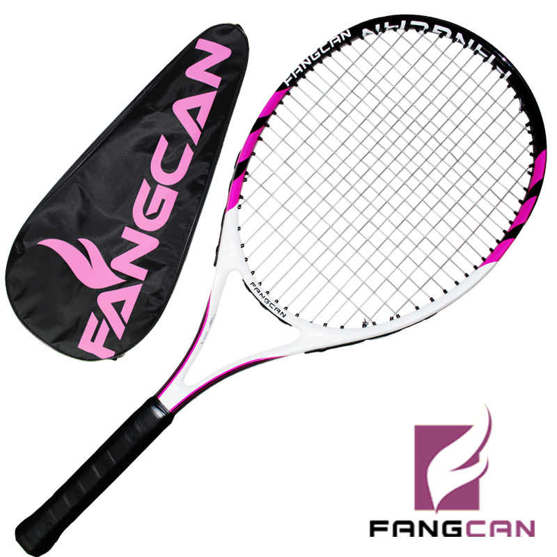 1pc FANGCAN SUPER A6/A8 Carbon and Aluminum Tennis Racket One Piece Composite Tennis Racket ...