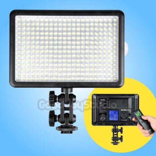 Godox LED308C 308C 308Pcs LED Professional Video (3300K-5600K) Light with Remote