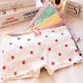 3pcs/lot Cute print Girl Underwear Cotton panties boxer 2016 New Calzoncillos Kids Lotes al por mayor Calcinha Menina Hot