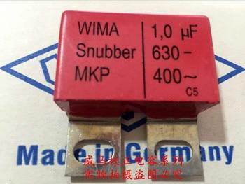 2019 hot sale 4pcs/10pcs Germany WIMA Snubber MKP 630V 1.0UF 1UF 630V 105 iron foot Audio capacitor free shipping цена 2017